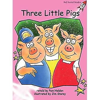 Three Little Pigs: Pre-reading (Red Rocket Readers: Fiction Set B)