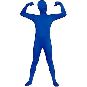 Costume de peau bleue pour enfants