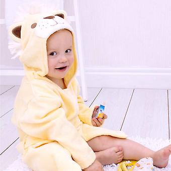 Roary Lion toddler bath robe