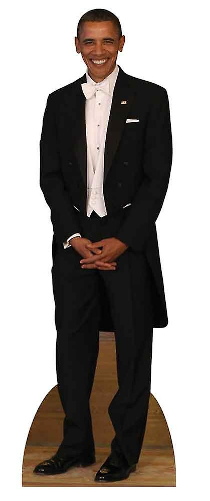 President Barack Obama Tuxedo Lifesize Cardboard Cutout / Standee / Standup