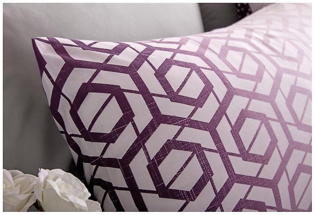 Ombre Set Case Duvet Reversible Quilt Bedding Ohari Pillow Modern Cover zUMGVqSp