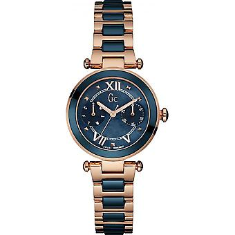 Watch GC Y06009L7 - watch Rose Gold chronograph woman
