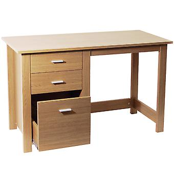 Montrose - Home Office opslag Desk / Workstation - eiken
