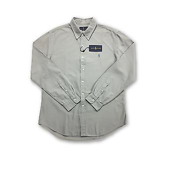 Ralph Lauren slim fit shirt in grey