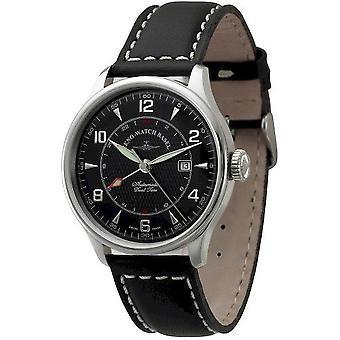 Zeno-Watch Herrenuhr Godat II (Dual Time) 6273GMT-g1