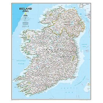 Ireland (Eire) - NG.P01020427 by National Geographic Maps - 9781597752