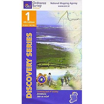 Donegal (NW) (4th Revised edition) by Ordnance Survey Ireland - 97819