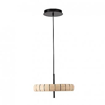 Phill Wood Pendant Led 24w Dimmable