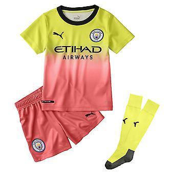 بوما مانشستر سيتي 2019/20 جونيور كيدز ثالث كرة قدم كيت أصفر