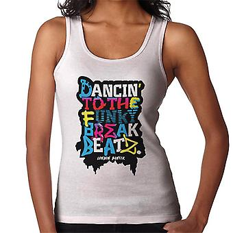 London Banter Break Beatz Women's Vest