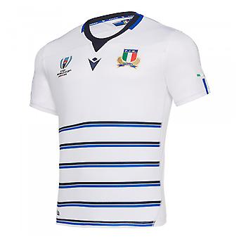 2019-2020 Italie Away Authentic RWC Rugby Shirt