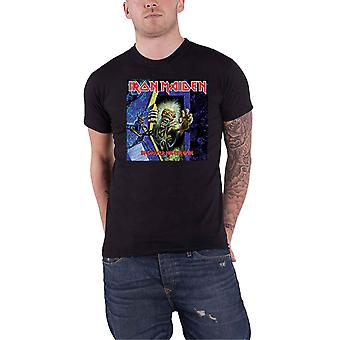Iron Maiden T Shirt No Prayer for the Dying Cover Box new Official Mens Black