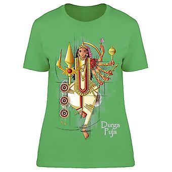 Indian Goddess Durga Tee Women's -Image by Shutterstock