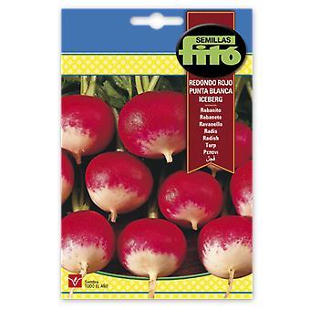 Semillas Fitó Round radish red tip white iceberg (Garden , Gardening , Seeds)