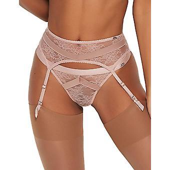 Gossard 16202 Women's VIP Chicago Wood Rose Pink Suspender Belt