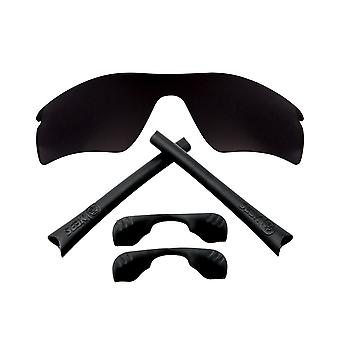 Replacement Lenses Accessories Compatible with OAKLEY RADAR PATH Black & Black