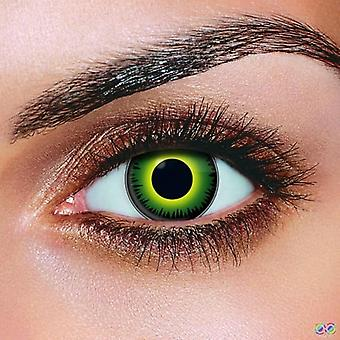 Green Werewolf Contact Lenses (Pair)