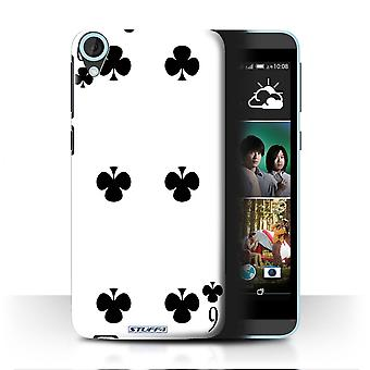 STUFF4 Case/Cover for HTC Desire 820q Dual/6 of Clubs/Playing Cards
