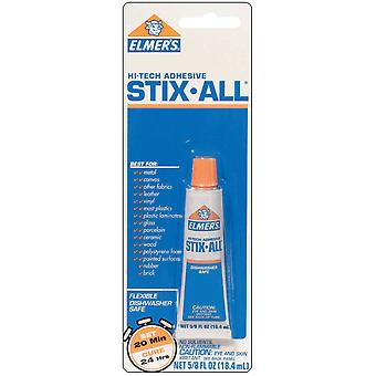 Elmers Hi Tech Stix All Adhesive .63 Ounce E650a