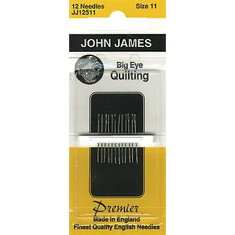 Big Eye Quilting Hand Needles Size 11 12 Pkg Jj125 11