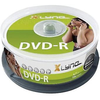 Blank DVD-R 4.7 GB Xlyne 2025000 25 pc(s) Spindle