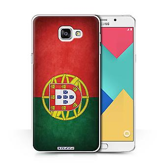 STUFF4 Case/Cover for Samsung Galaxy A9 (2016)/Portugal/Portuguese/Flags