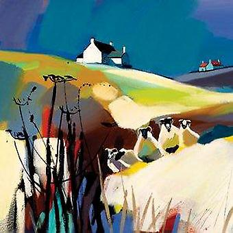 Pam Carter print - Keepers of the Cottage