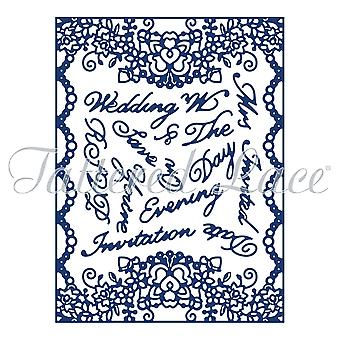 Essentials by Tattered Lace Elegant Lace Frame Die