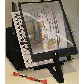 PROP-IT Hands-Free Page Magnifier & Stand- 2169