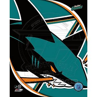 San Jose Sharks 2011 Team Logo Sports Photo