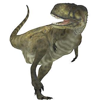 Abelisaurus dinosaure Abelisaurus était un dinosaure carnivore qui vivait dans la période du Crétacé d'Argentine Poster Print