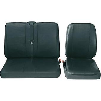 Petex Profi 4 universal car seat cover set Black