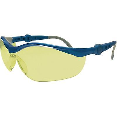 Upixx Cycle Ergonomic safety glasses, yellow 26751 Plastic EN 166F