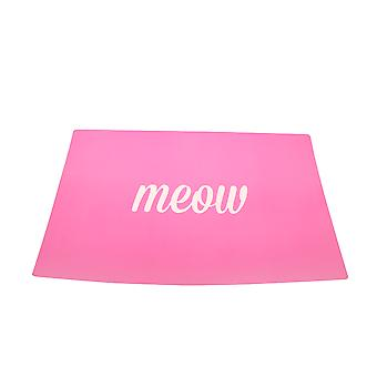 Mason Cash Meow Placemat Pink (Pack of 3)