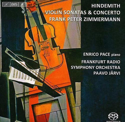 P. Hindemith - Hindemith: Violin Sonatas & Concerto [SACD] USA import