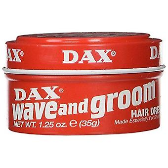 DAX Wave And Groom Hair Dress Red 1.25 oz (35g)