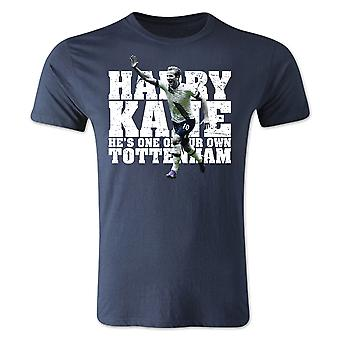Harry Kane Tottenham Player T-Shirt (Navy) - Kids