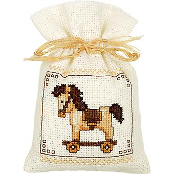 Bags Toys Set Of 3 On Aida Counted Cross Stitch Kit-2