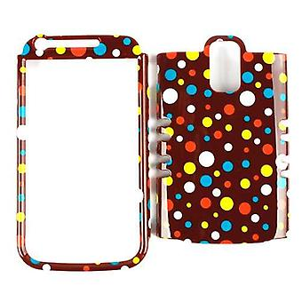 Unlimited Cellular Rocker Snap-On Case for Samsung Galaxy S2 Hercules T989 - Col