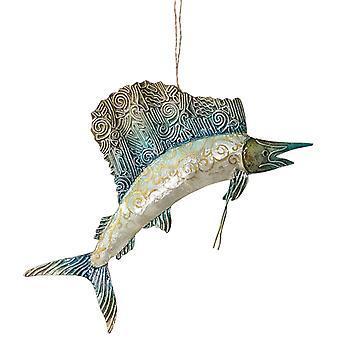 Montego Bay sværdfisk Christmas Holiday Ornament