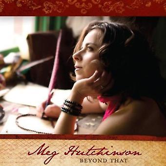 Meg Hutchinson - Beyond That [CD] USA import