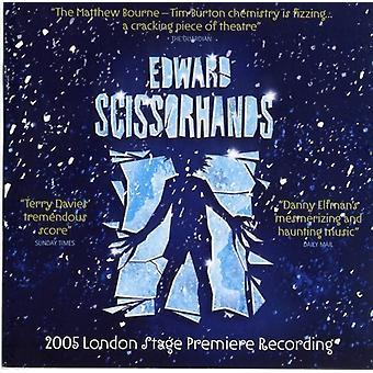 Edward Scissorhands - Edward Scissorhands [2006 London Cast] [CD] USA import