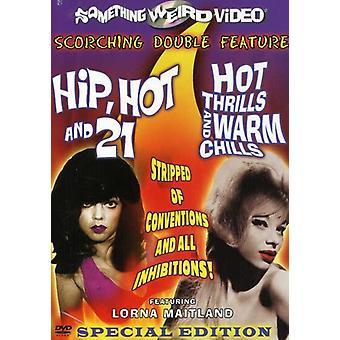 Höften varm & 21/Hot Thrills varma frossa [DVD] USA import