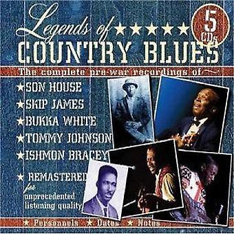 Legends of Country Blues - Legends of Country Blues [CD] USA import