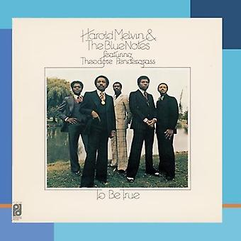 Harold Melvin & the Blue Notes - To Be True [CD] USA import
