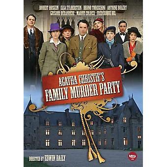 Agatha Christies familie mord part [DVD] USA importerer