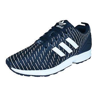 Adidas Originals ZX Flux Mens formateurs / chaussures - noir