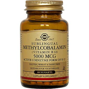 Solgar Methylcobalamin (Vitamin B12) 5000 Mcg Nuggets 60ct