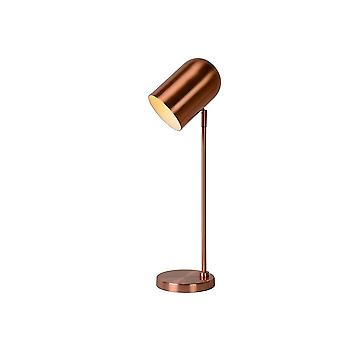 Lucide BLINY Table Lamp E14 D11 H53cm Red Copper