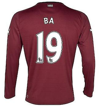 2012-13 Newcastle Long Sleeve Away Shirt (Ba 19)